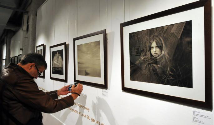 выставка Джока Стерджеса Без смущения