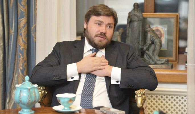 Константин Малофеев - широка православна душа в съчетание с разнообразни съмнителни политически и икономически дейности. Снимка: www.sochi-24.ru