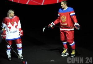 Белая хоккейная майка сборной россии