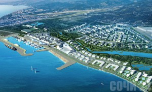 Основная олимпийская деревня на 3000